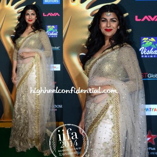 nimrat-kaur-vikram-phadnis-iifa-awards-2014