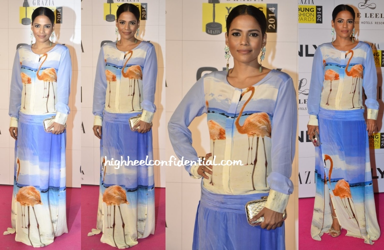 priyanka-bose-farah-sanjana-grazia-young-fashion-awards-2014