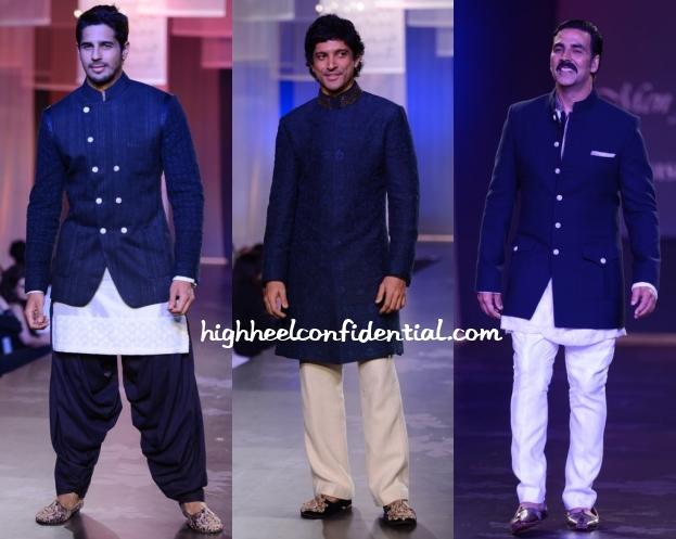 siddharth-farhan-akshay-men-mijwan-fashion-show
