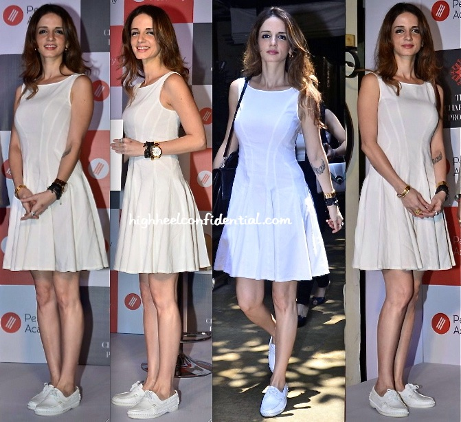 sussanne khan roshan-pearl academy campus launch-christian louboutin