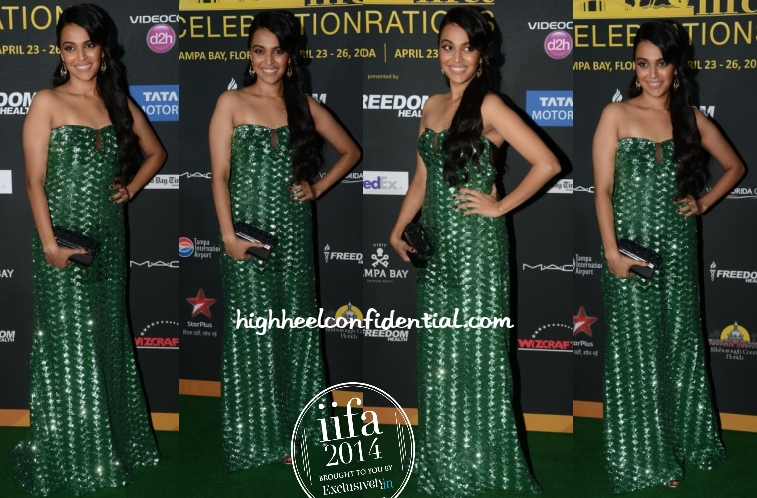 swara-bhaskar-badgley-mischka-iifa-awards-2014