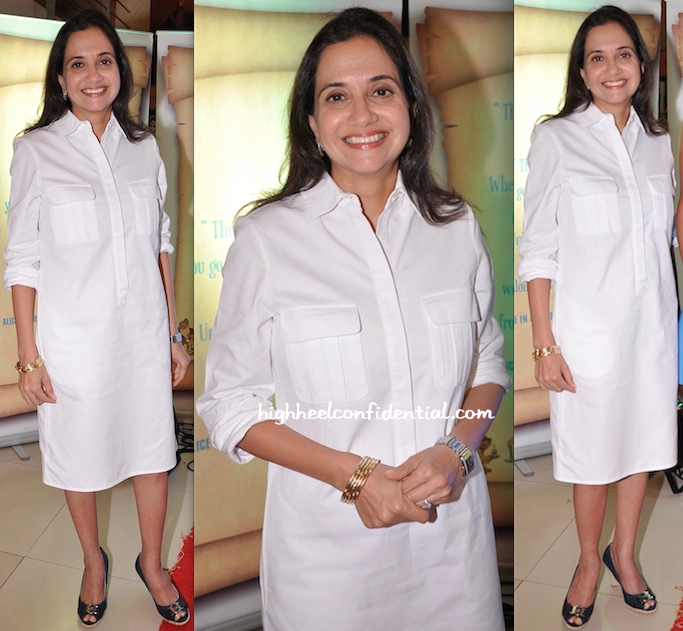 Anupama Chopra At A Book Launch