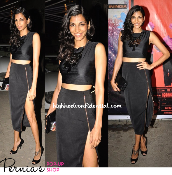 Anushka Manchanda In Nikhil Thampi At Blue Frog