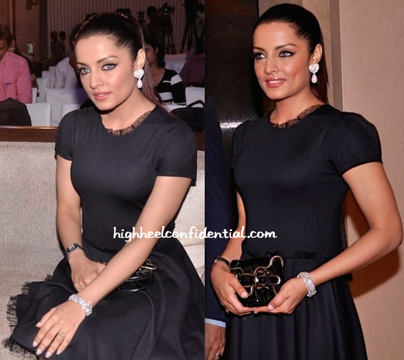 Celina Jaitly In Red Valentino At UN Free And Equal Campaign's Song Launch-2