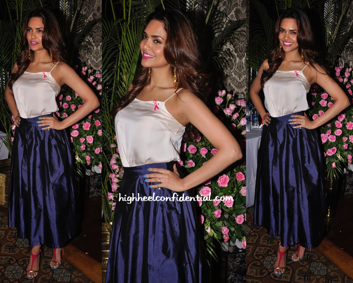 Esha Gupta In Nikhil Thampi At Elle Carnival-1