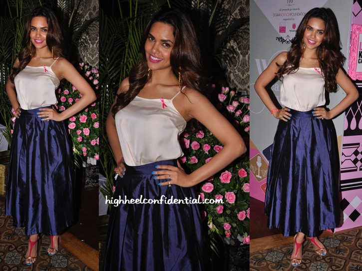 Esha Gupta In Nikhil Thampi At Elle Carnival-2