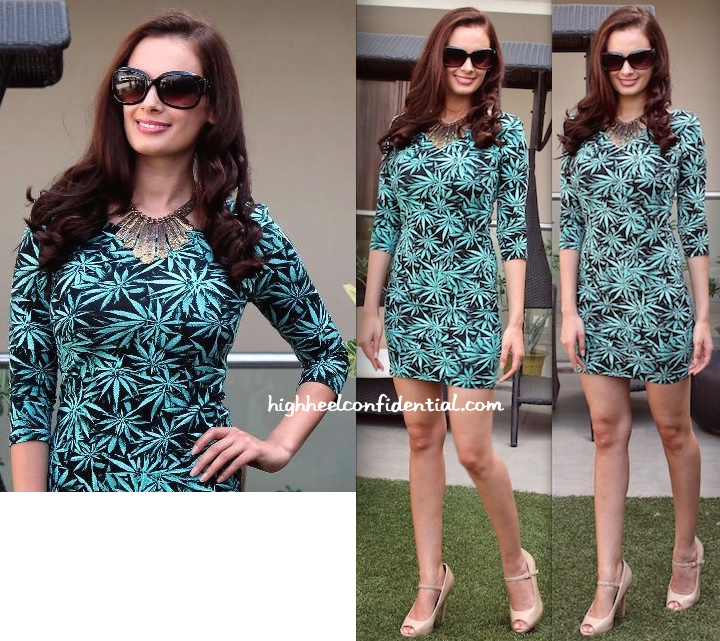 Evelyn Sharma at Quality Mark Awards Press Meet in Ahmedabad in HM