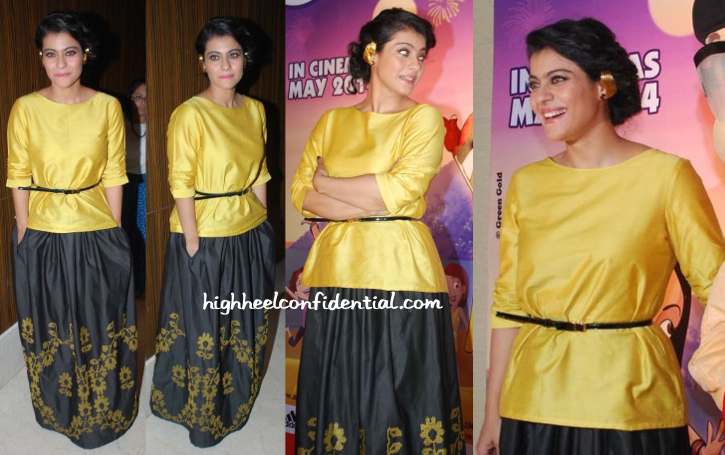Kajol In Payal Pratap At A Mother's Day Event-2