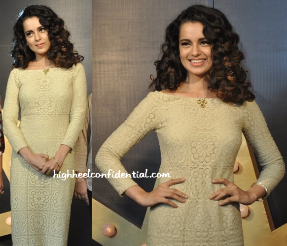 Kangna Ranaut In Burberry At Tanishq Press Conference-2