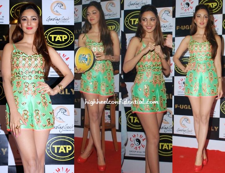 Kiara Advani at the launch of TAP Sports BAr