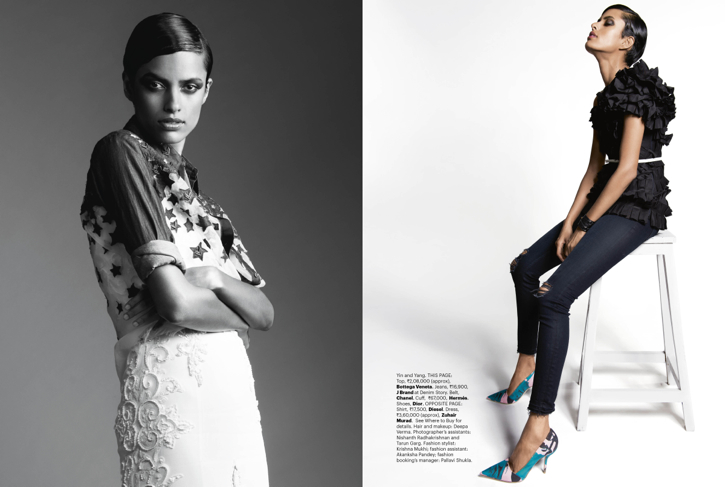 Lakshmi Menon Covers Harper's Bazaar June '14 Issue Wearing Louis Vuitton-3