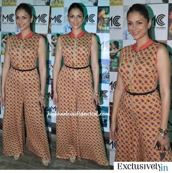 Aditi Rao Hydari In Ritu Kumar At Mukesh Chabbria Casting Agency Launch