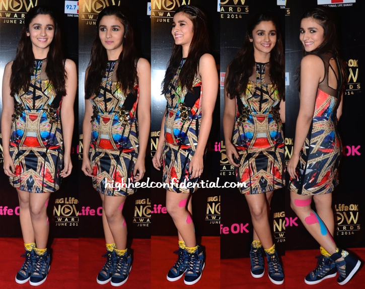 Alia Bhatt At Life OK Awards 2014-1
