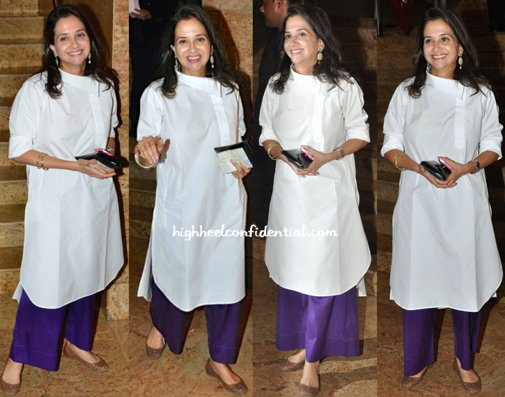 Anupama Chopra In Payal Khandwala At Dilip Kumar's Book Launch