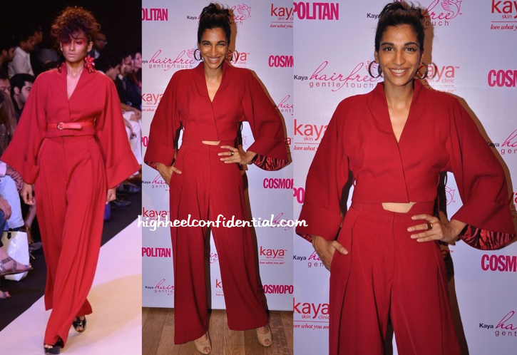 Anushka Manchanda In Narendra Kumar At Kaya Skin Clinic Event