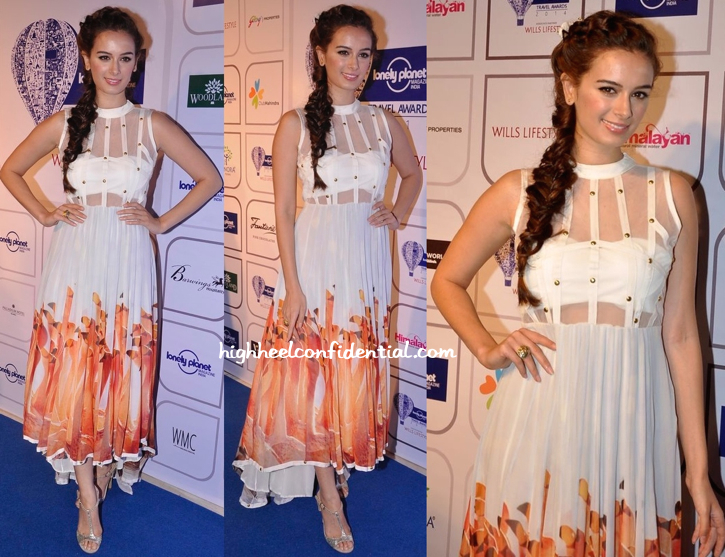 Evelyn Sharma In Farah Sanjana At Lonely Planet Awards-1