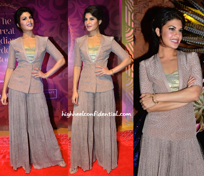 Jacqueline Fernandez At 'The Great Indian Wedding Book' Launch-1