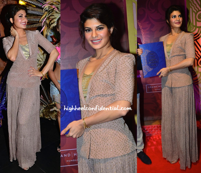 Jacqueline Fernandez At 'The Great Indian Wedding Book' Launch-2