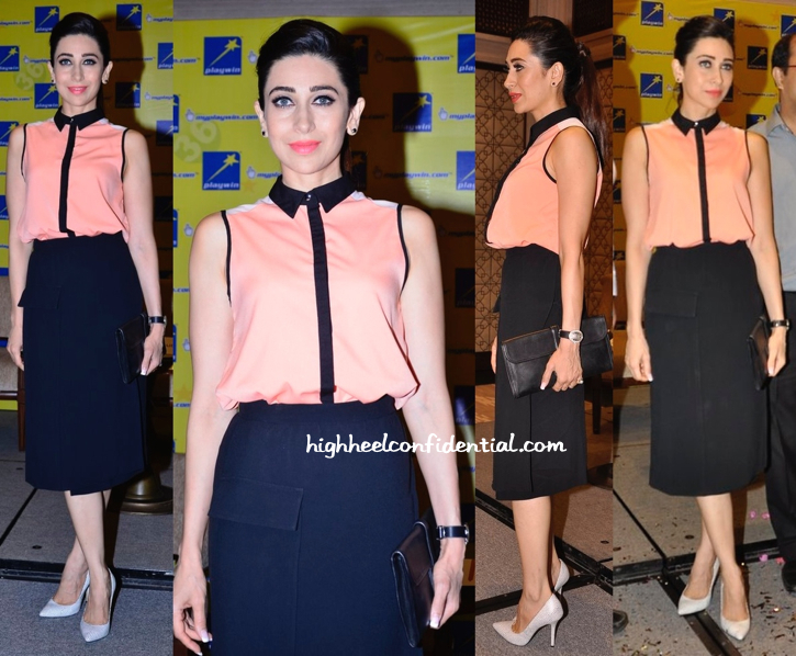 Karisma Kapoor At Playwin Lottery Event-1