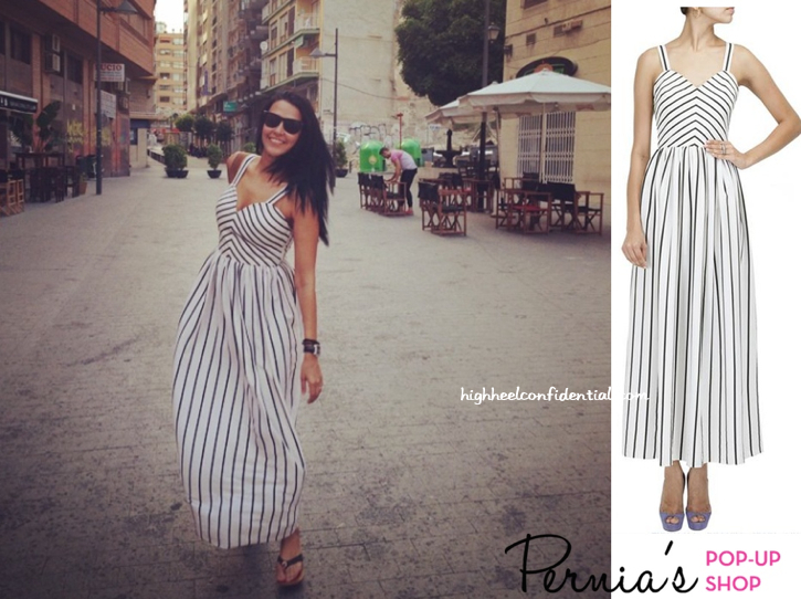 Neha Dhupia Wears Pernia Qureshi On Her Vacation (Dress Also Seen On Esha Gupta)