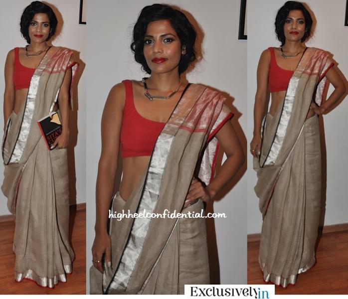 Priyanka Bose In Anavila At A Book Launch