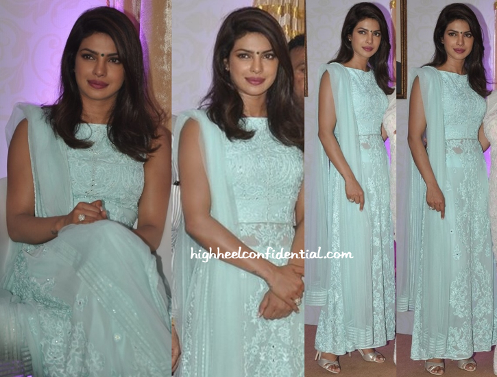 Priyanka Chopra At An Event To Inaugurate A Road Named After Her Late Father-1