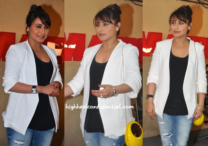Rani Mukherjee At 'Mardaani' First Look-Trailer Launch-2