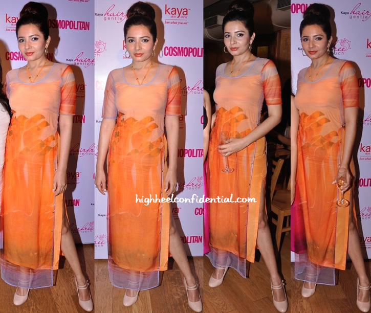 Shonali Nagrani In Farah Sanjana At Kaya Skin Clinic Event