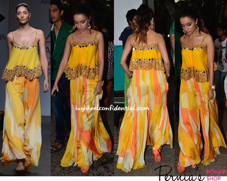 Shraddha Kapoor In Arpita Mehta And Outhouse Jewelry On 'JDJ' Sets For 'Ek Villain' Promotions-1