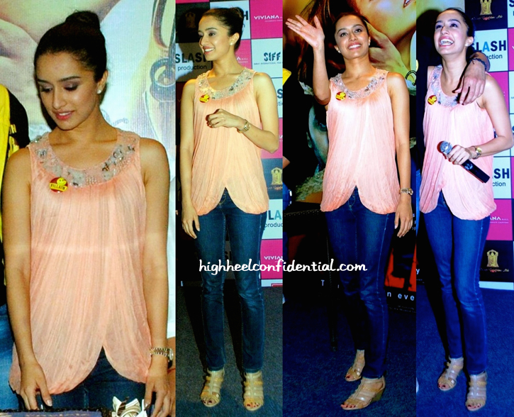 Shraddha Kapoor Promotes 'Ek Villain' At A Mall