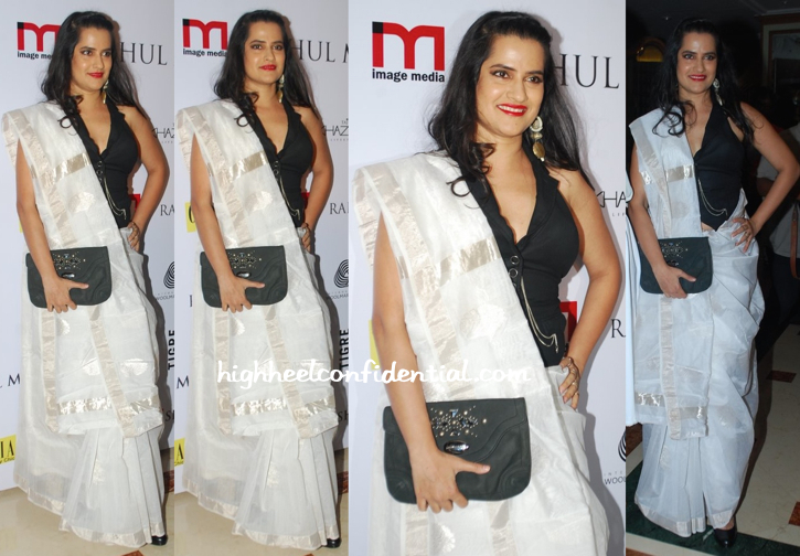 Sona Mohapatra At Grazia Do For Rahul Mishra