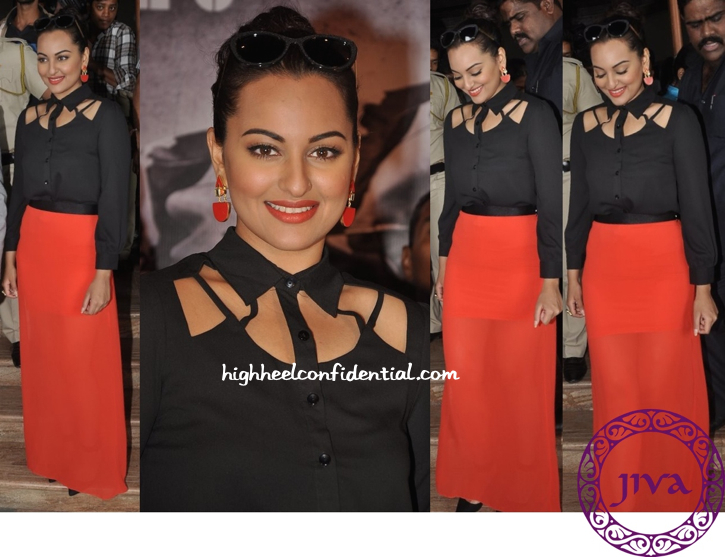 Sonakshi Sinha In Bebe At 'Holiday' Promotions-2