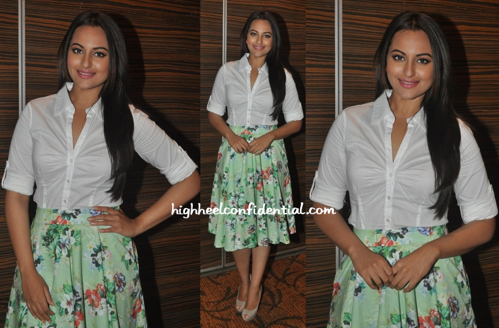 Sonakshi Sinha Wears Zara To Holiday Promotions-1