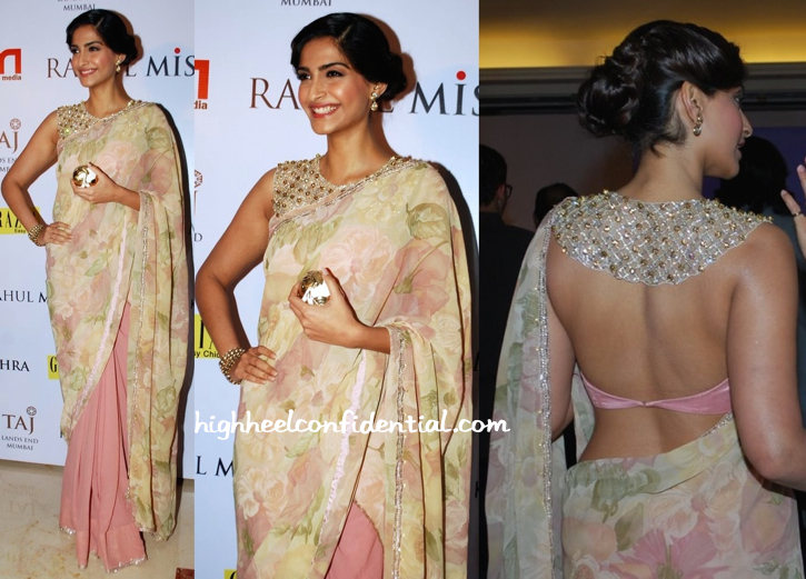 Sonam Kapoor In Shehlaa At Grazia Do For Rahul Mishra-1