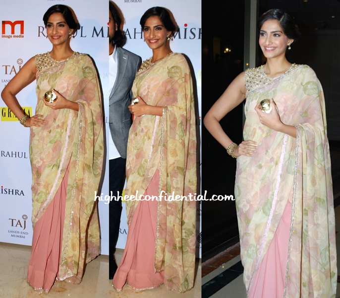 Sonam Kapoor In Shehlaa At Grazia Do For Rahul Mishra-2