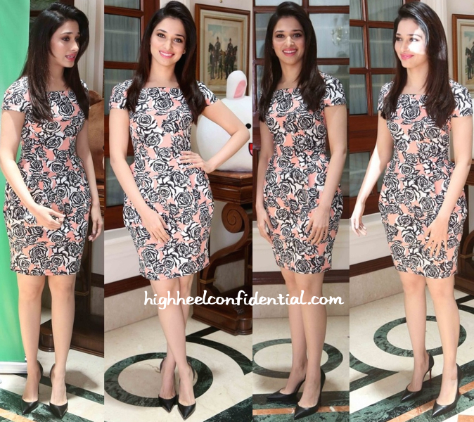 Tamannaah Bhatia In ASOS At Humshakals Promotions