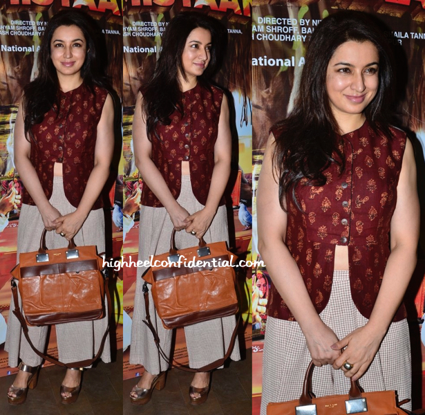 Tisca Chopra At 'Filmistaan' Screening