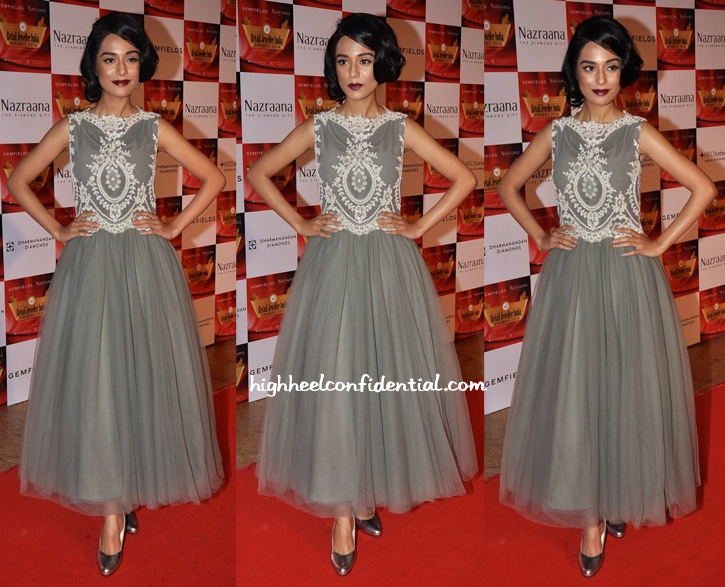 Amrita Rao In Rocky S At Gemfields Retail Jeweller India Awards 2014-1
