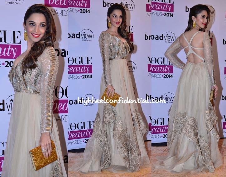 Kiara Advani In Jade At Vogue Beauty Awards 2014