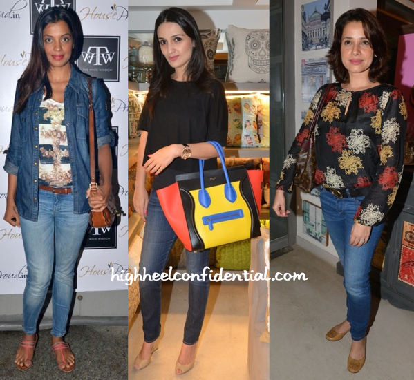 Mugdha Godse, Anu Dewan And Neelam Kothari At The White Window-1