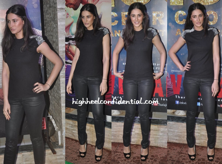 Nargis Fakhri At Ek Villain's Success Bash