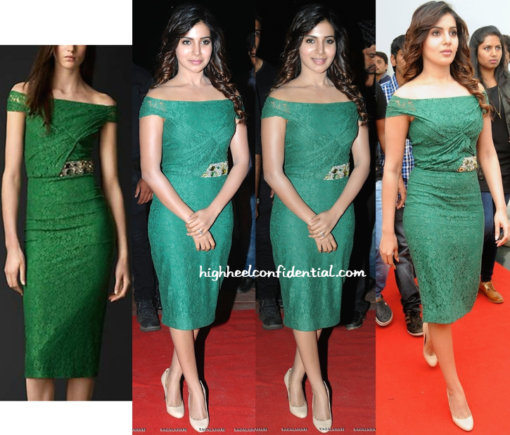 Samantha Ruth Prabhu In Burberry At 'Sikander' Music Launch-1
