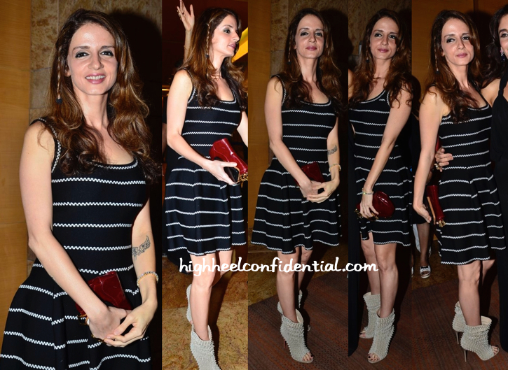 Sussanne Khan In Alia At IIJW 2014 Show