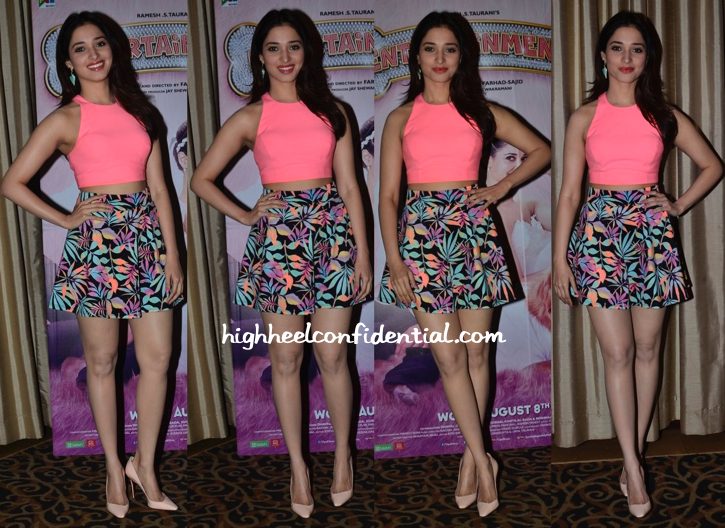 Tamannaah Bhatia In Elizabeth & James And Charlotte Russe At 'Entertainment' Promotions