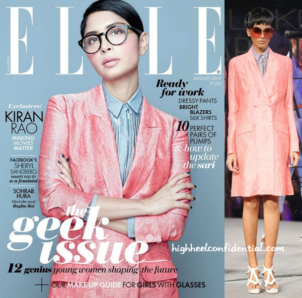 (Un)Covered- Kiran Rao In Rajesh Pratap Singh For Elle August 2014