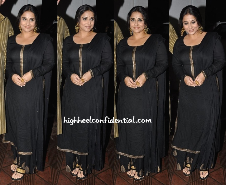 Vidya Balan In Shruti Bhandari At Sanjay Leela Bhansali's Party