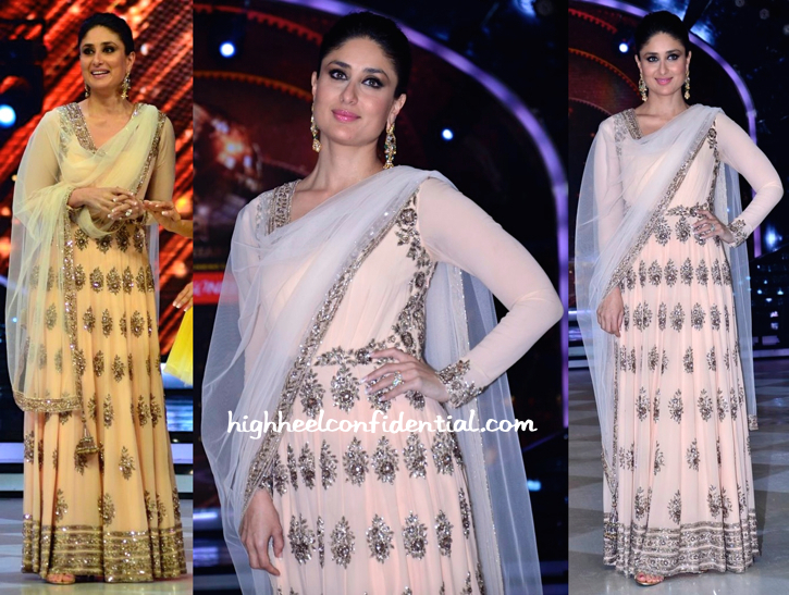 Wearing Manish Malhotra, Kareena Kapoor Promotes Singham Returns On Jhalak Dikhhla Jaa Sets-2