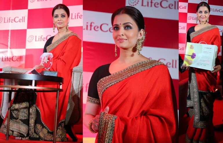aishwarya-rai-sabyasachi-lifecell-chennai-press-meet