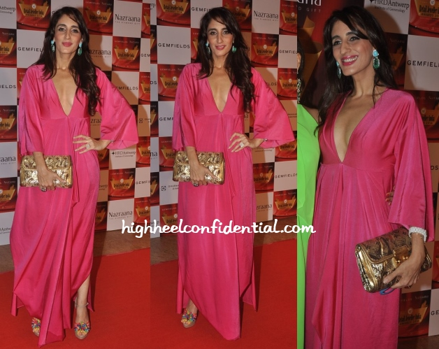 farah-khan-retail-jeweller-india-awards-wendell-rodricks-2014