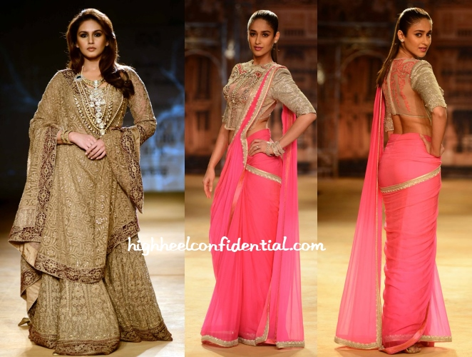 huma-qureshi-ileana-dcruz-couture-week-2014